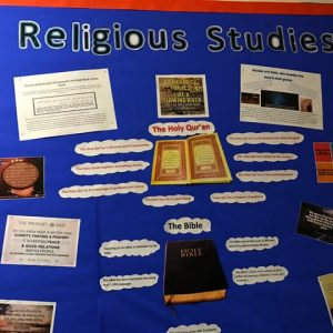 Religious Studies Display