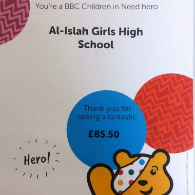 Supporting BBC Children In Need