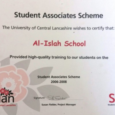 High quality training with UCLAN