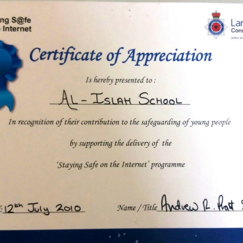 Community Cohesion | Al Islah Girls' High School, Blackburn