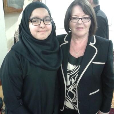 Al Islah Awards evening 2015 Key note speaker Kate Hollern MP of Blackburn